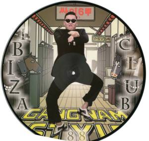 psy-picture disc